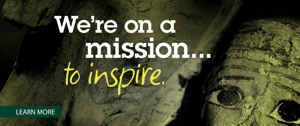 We're on a mission to inspire