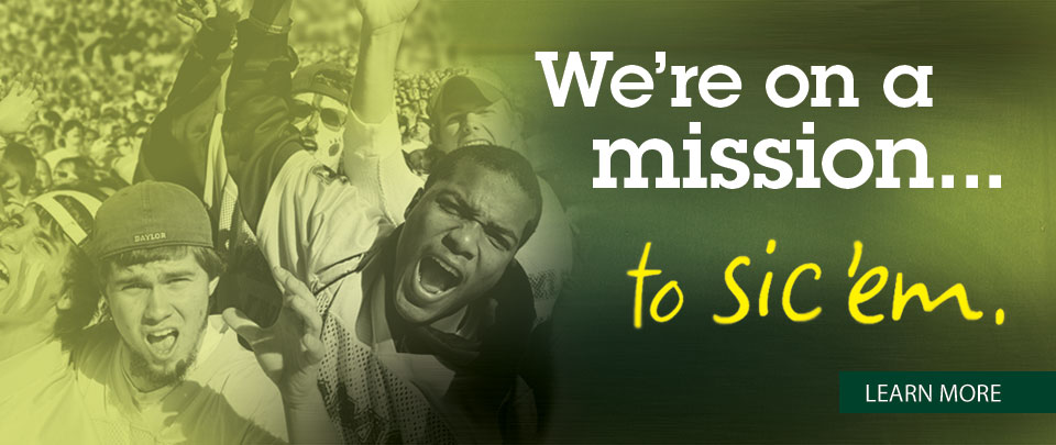 We're on a mission�to Sic 'em!