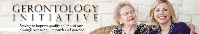 Gerontology Web Banner
