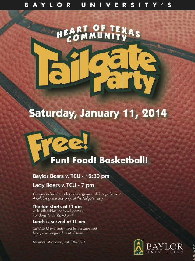 Community Tailgate Basketball 2014
