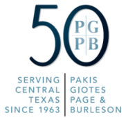 Logo - Pakis Giotes Page Burleson