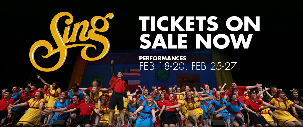 Sing Tickets On Sale Now