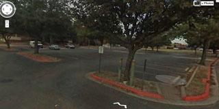 Hankamer parking lot