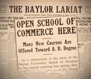 baylor business fellows thesis