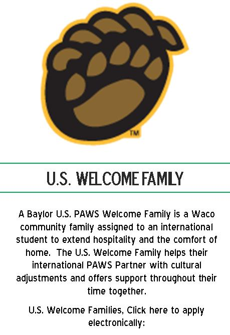PAWS Welcome Family