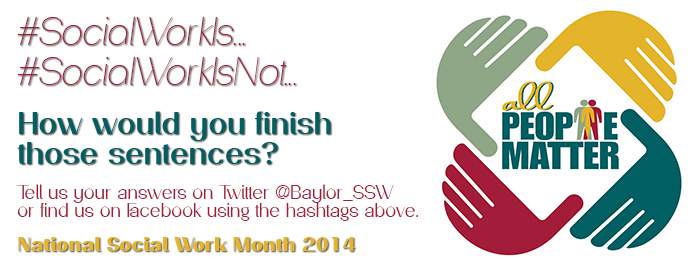 Social Work Month Homepage Slide 2014