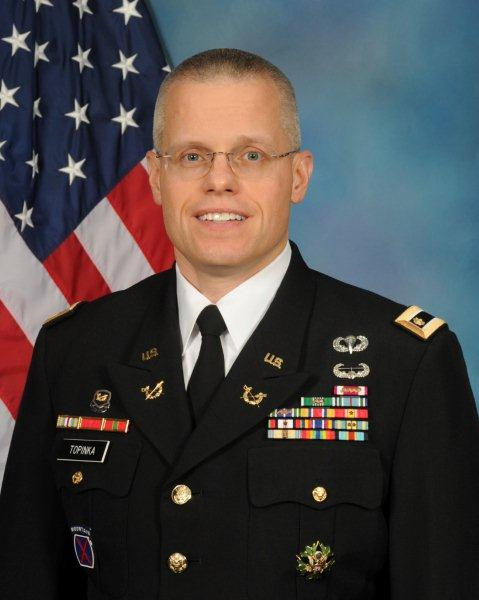 MAJ Joe Topinka