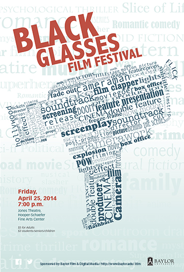 Black Glasses 2014 Poster