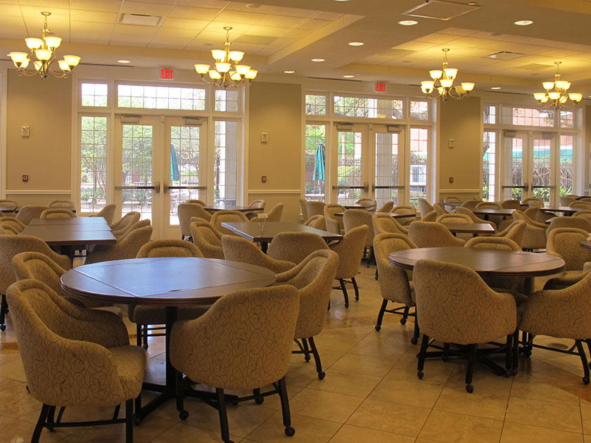 Photo of McMullen Dining Hall