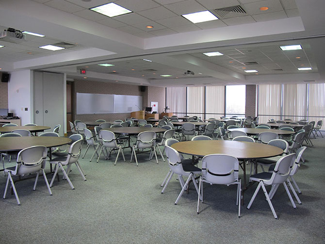 Photo of Hankamer School of Business room