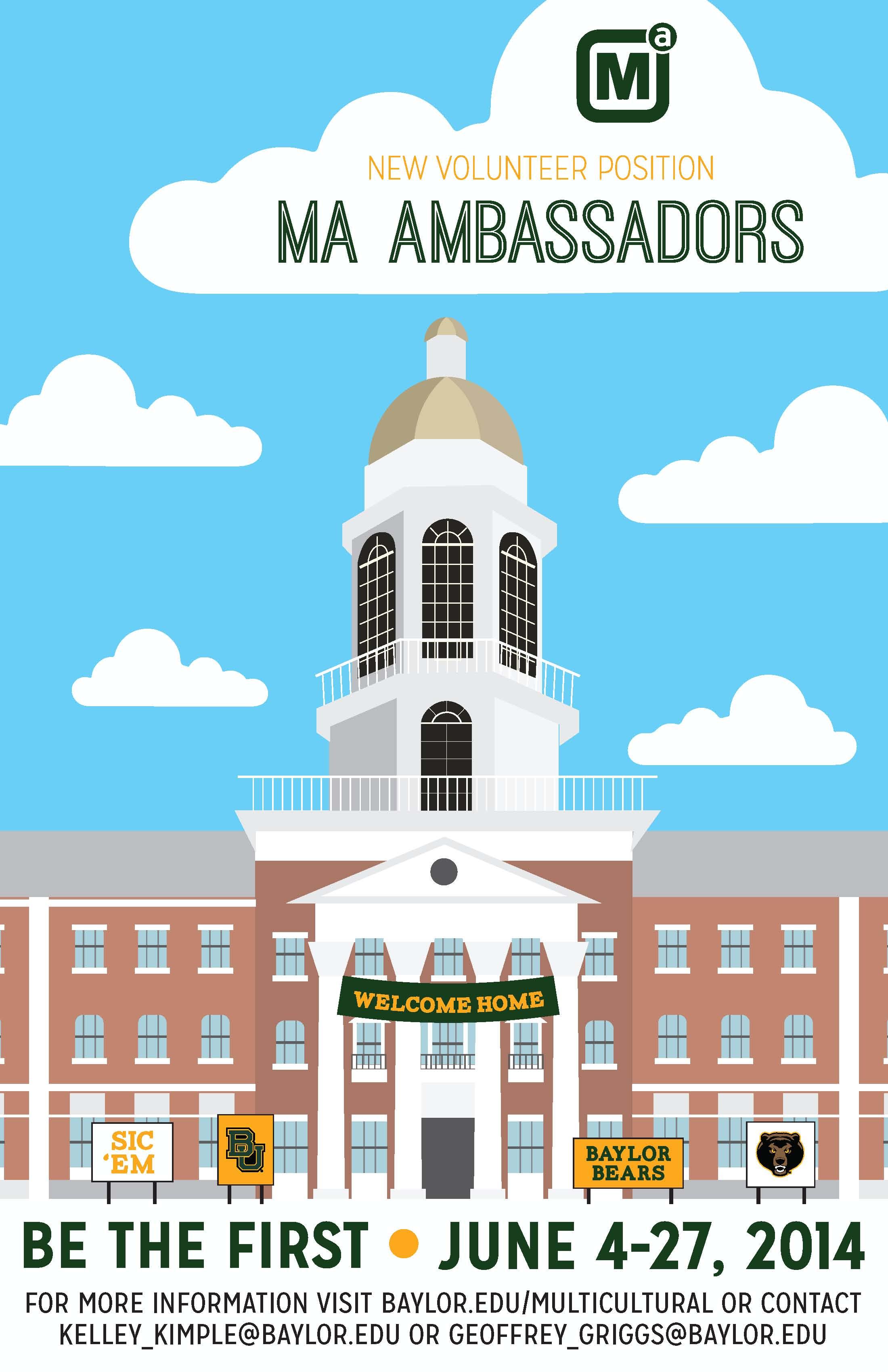 MA Ambassador Flyer 2014