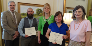 Dissertation Award Winners 2013-14