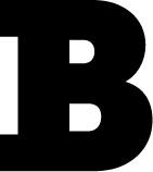 Drop Cap presentation of the letter B