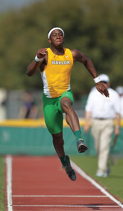 Photo of Felix Obi jumping
