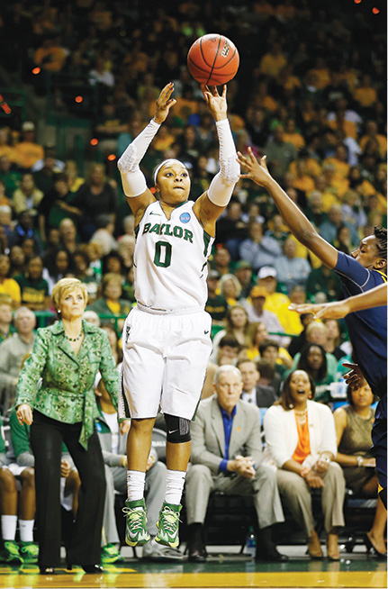 Photo of Odyssey Sims, shooting a jumpshot