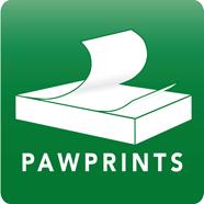 Paw Prints Logo