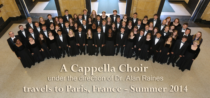 Banner - A Cappella Choir