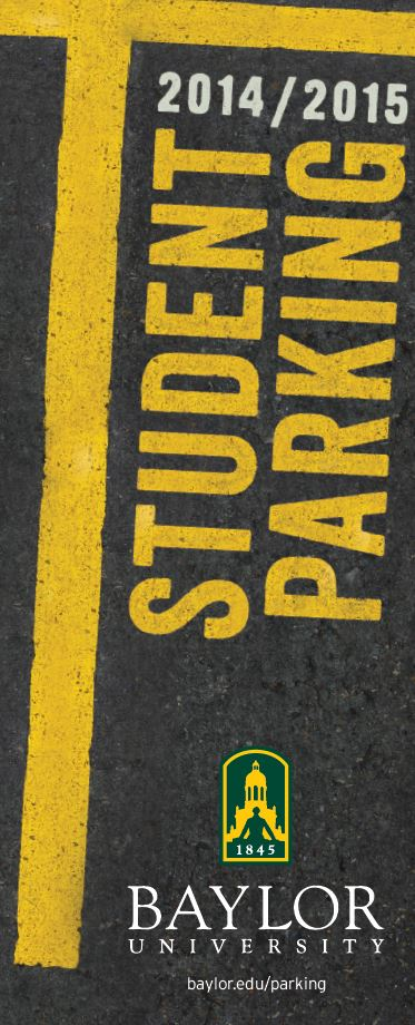 Student Parking Map 2014-2015