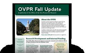2013 OVPR Fall Update