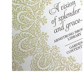 Stock photo of an invitation