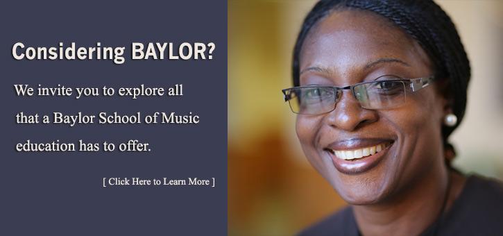 Banner - Consider Baylor