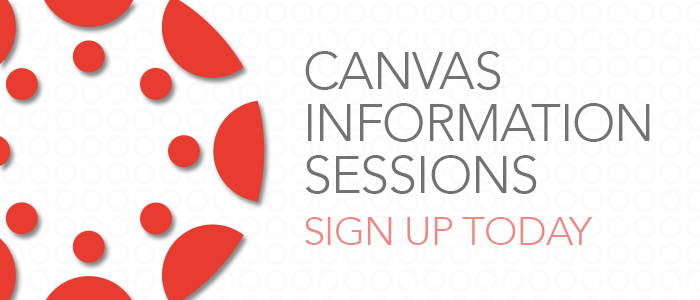 Banner: Canvas Instruction Sessions
