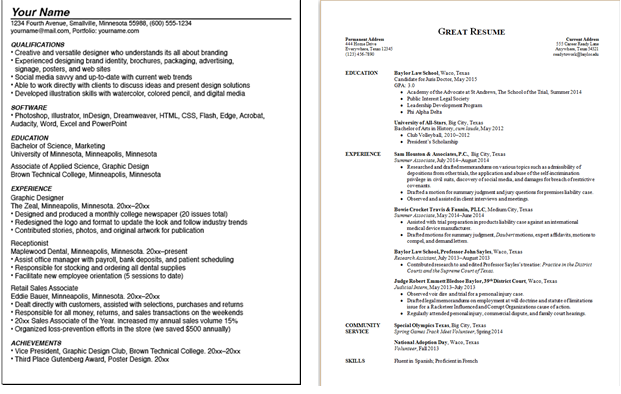 can a resume be two pages playbestonlinegames