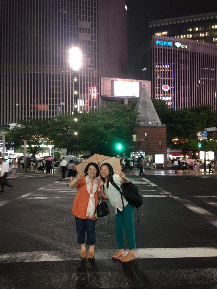 Yuko and Yoshiko July 2014