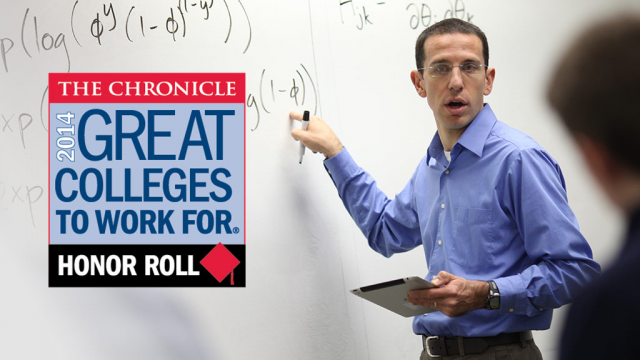 Chronicle - Great colleges to Work For 2014