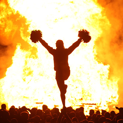 Extravaganza, Pep Rally and Bonfire