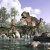 Dinosaurs Fell Victim to Perfect Storm of Events, Study Shows