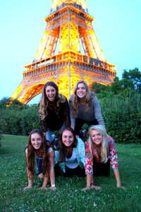 Eiffel Tower Girls