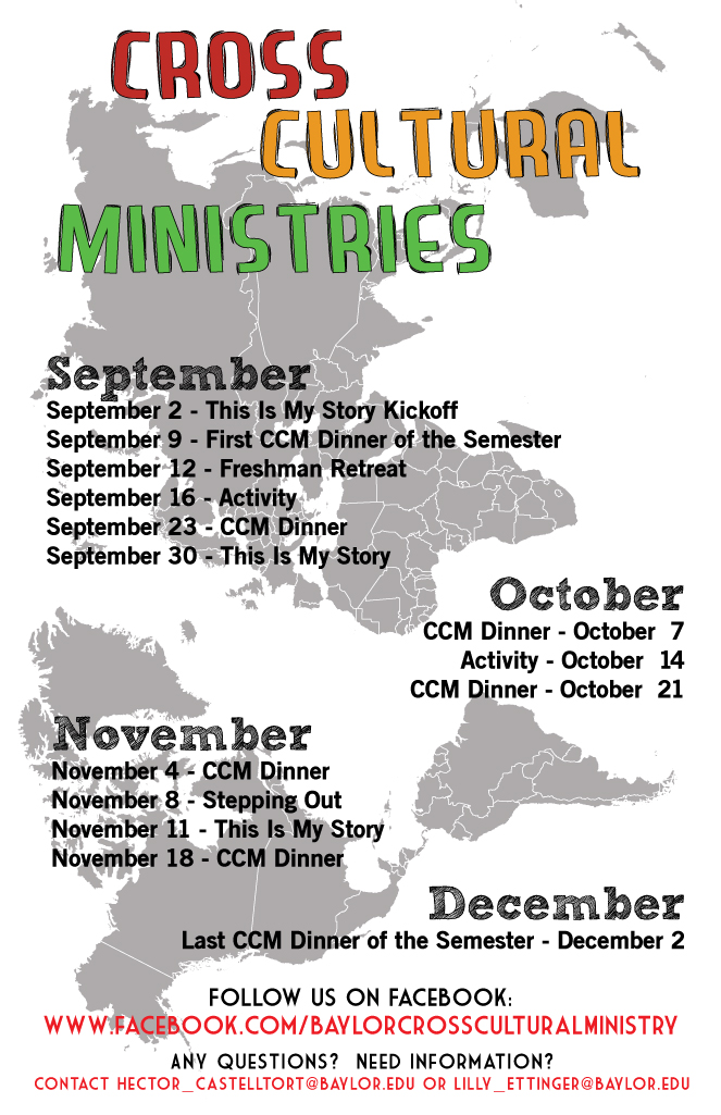 CCM Fall Dates