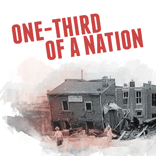 One-Third of a Nation Logo