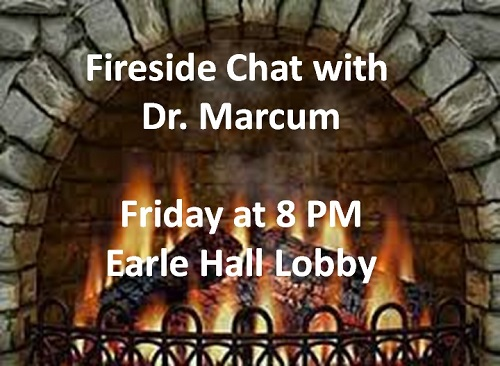 Fireside Chat with Dr Marcum