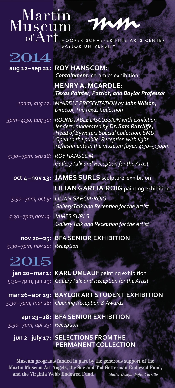 Calendar 2014-15