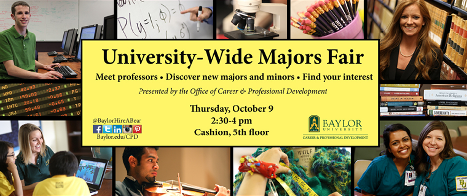 University-Wide <br>Majors Fair