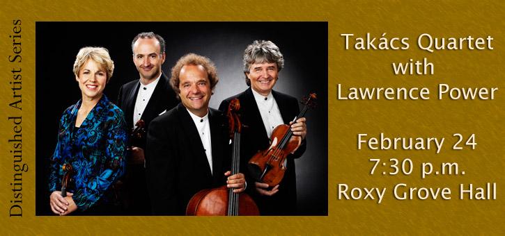 Banner_Takacs Quartet
