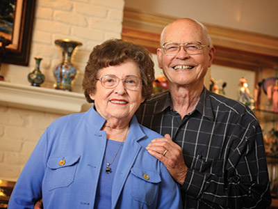 Bob and Joyce Hornaday Packard