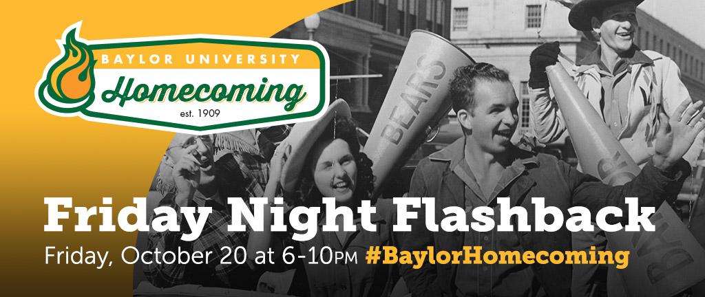 Homecoming Event - Friday Night Flashback