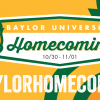 #BaylorHomecoming 2014 Will Welcome Bears Flung Afar Via Social Media