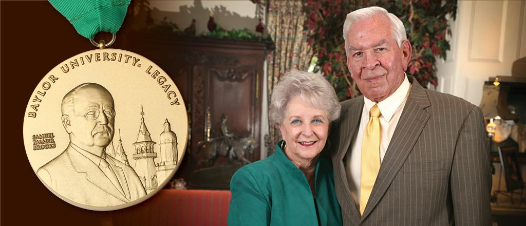 Headshot of Winners of Baylor Legacy Award: Walter and Sheila Umphrey