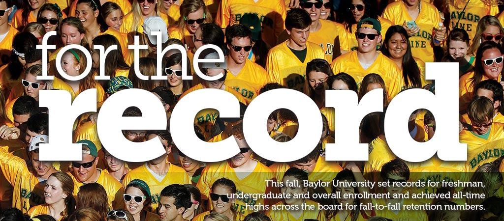 Baylor Magazine Cover: For the Record