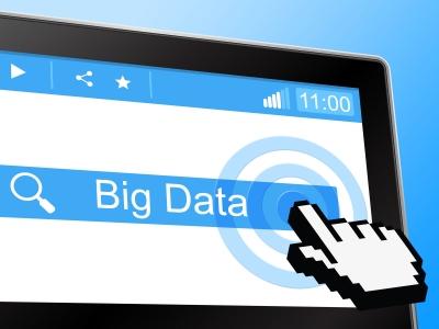 stock photo representation of big data