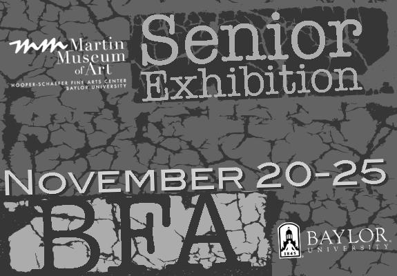 BFA Student Exhibition web slide, Fall 2014