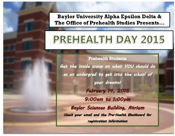 2015 Prehealth Day