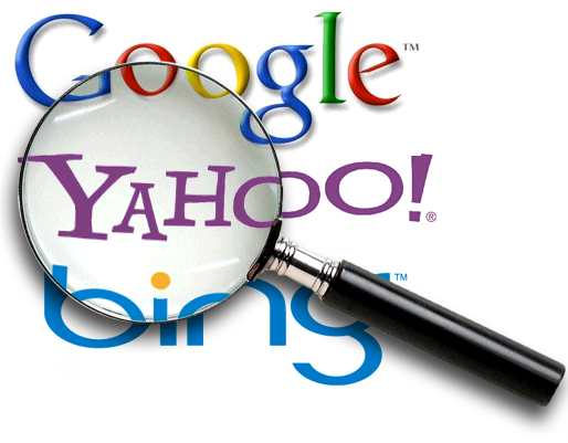 photo representation of search engines