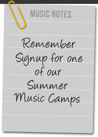 Music Notes - Summer Music Camp