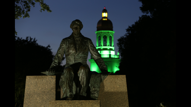 Judge Baylor Statue 1