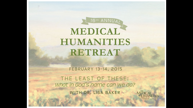 Medical humanities retreat
